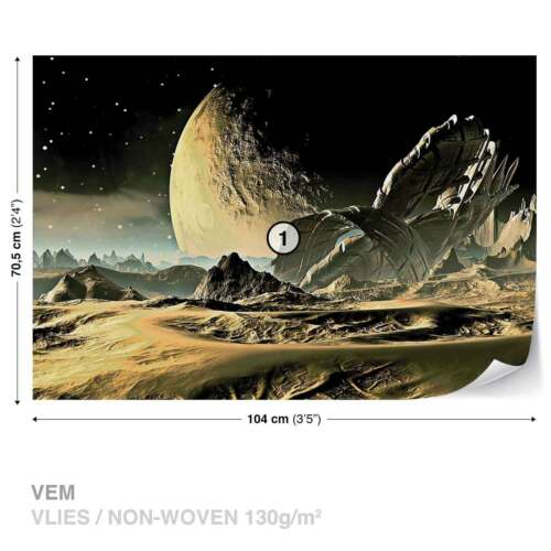 2806WS WALL MURAL PHOTO WALLPAPER XXL Space Planet
