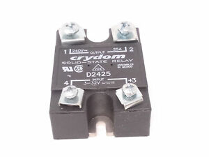 Crydom solid state relay d2425 240 vac 25a ebay stock photo publicscrutiny Images
