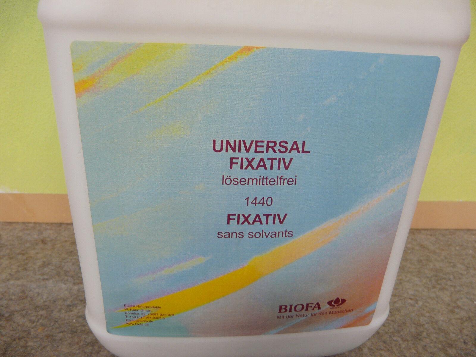 Biofa 1440 Universal Fixativ farblos 5,0 Liter für 45qm Bio Naturfarbe