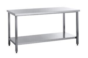 Edelstahl-Arbeitstisch-60-cm-tief-bis-200-cm-Breite-mit-ohne-Aufkantung