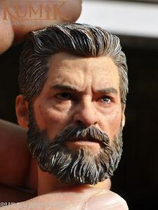 1/6 Scale David Beckham Head Sculpt W/Neck For 12 Narrow