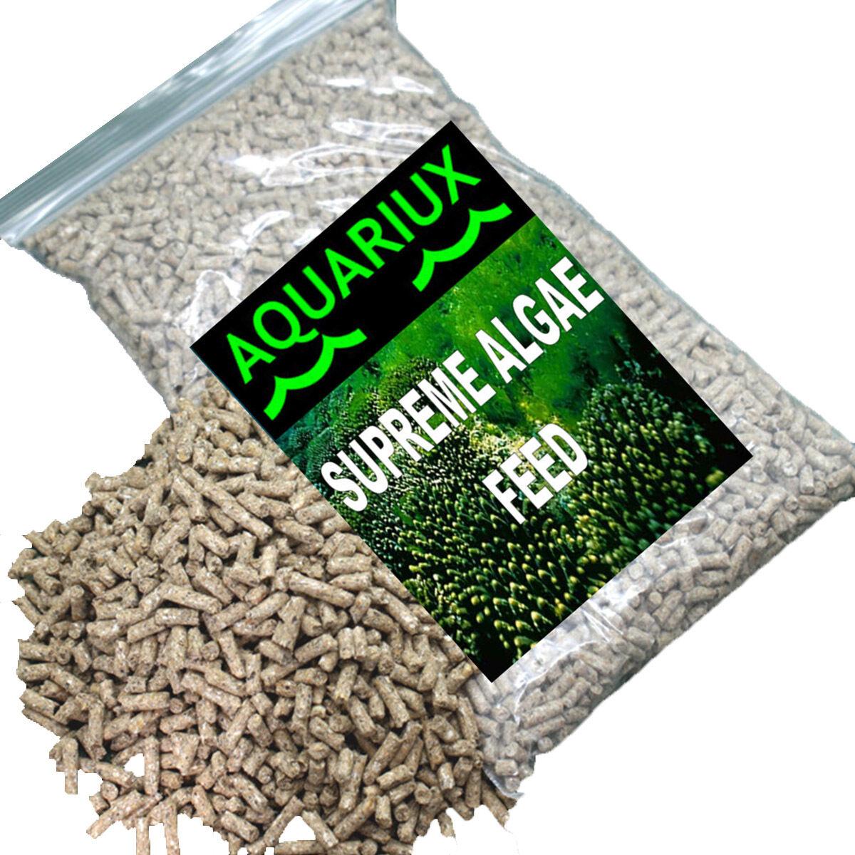 Aquariux Supreme alghe pellet cibo per Pesci Mangimi Spirulina PELLET ACQUARIO