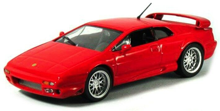 Lotus Esprit V8 Scale 1 43 Red from Atlas Die-Cast