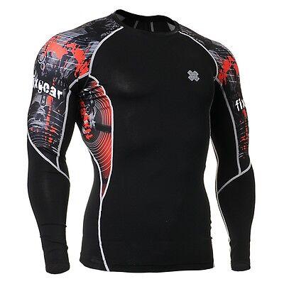 FIXGEAR C2L-B30 Compression Base Layer Shirt Sportswear for MMA Workout Gym