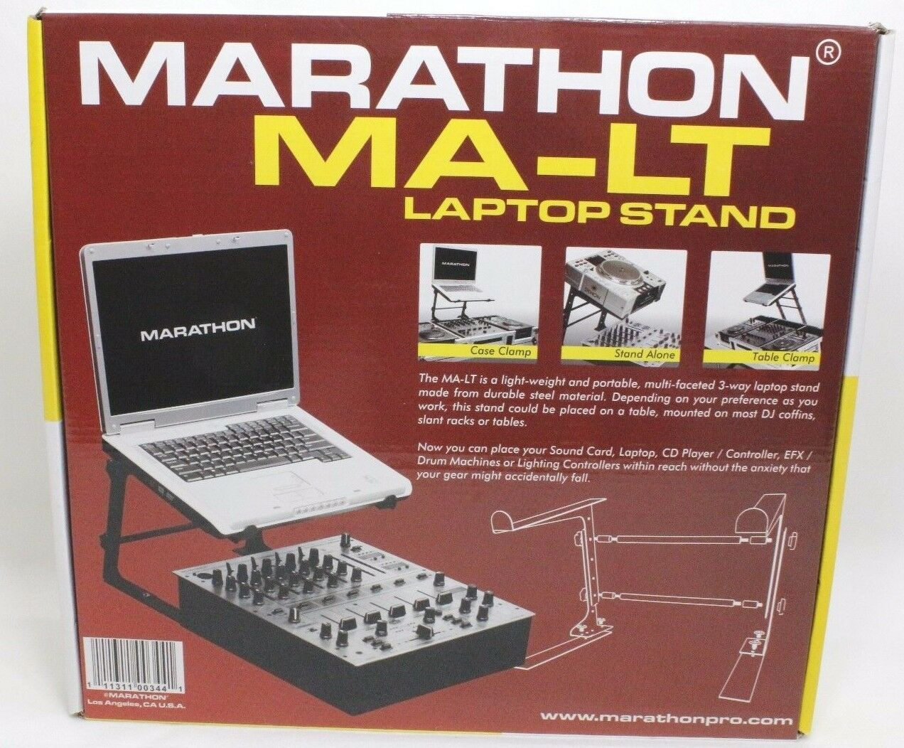 Marathon MA-LT Laptop Stand  - NEW - FREE SHIPPING