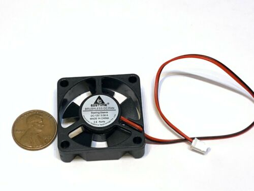 3 Pieces Gdstime 35mm 35x10mm 3510 DC 12V 2Pin mini Ventilation Cooling Fan A16