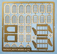 Ratio 309 Industrial Windows (Etched Metal) N Gauge