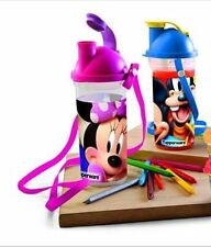 TUPPERWARE DISNEY MICKEY OR MINNIE SCHOOL WATER BOTTLE WITH SIPPER SEAL FOR KIDS