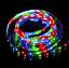 STRISCIA-6-LED-SMD-5050-3528-10cm-bianca-rossa-blu-gialla-verde-RGB-luce-12V miniatura 7