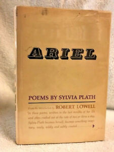 Details About 1st In Dj Ariel By Sylvia Plath Poems Harper 1966