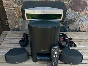 Bose-321-DVD-CD-Heimkinosystem-Kompaktanlage-Media-Center-Subwoofer-Satelliten