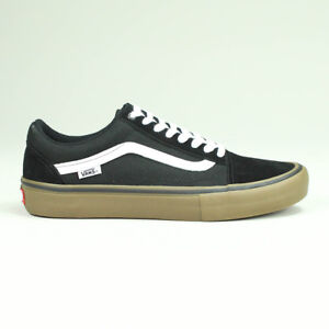 29b6e59d20 Image is loading Vans-Old-Skool-Pro-Trainers-Shoes-Black-White-