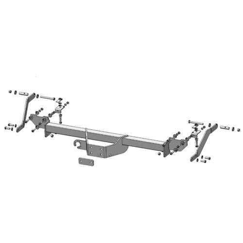 Flange Tow Bar PCT Towbar for Citroen Relay Chassis Cab 2006 Onwards