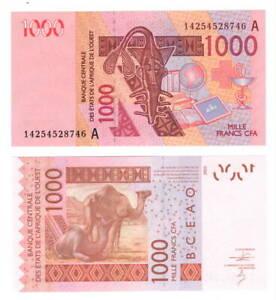 UNC-COTE-D-039-IVOIRE-IVORY-COAST-1000-West-African-Francs-2003-P-115A