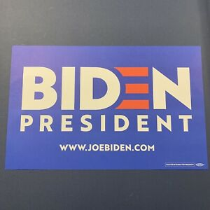 JOE-BIDEN-OFFICIAL-CAMPAIGN-POSTER-2020-PRESIDENTIAL-CANDIDATE-RARE-RALLY-SIGN