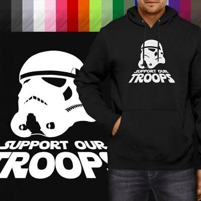 Star Wars The Force Awakens Stormtrooper Pullover Hoodie Jacket Hooded Sweater