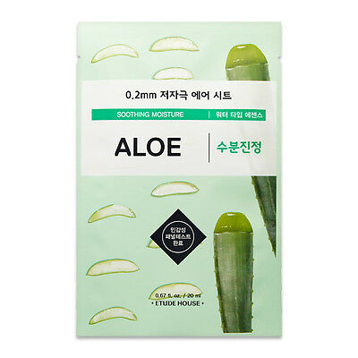 ETUDE HOUSE - 0.2 THERAPY AIR MASK Authentic 1 / 2 / 5 / 7 ( KOREA Genuine )