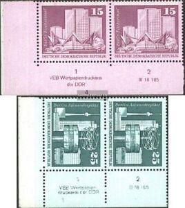 DDR-1853DV-1854DV-mit-Druckvermerk-kompl-Ausg-gestempelt-1973-Aufbau-in-der-D