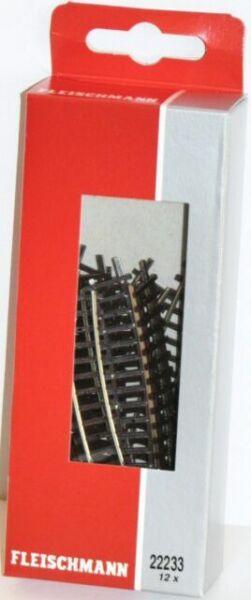 NEU Radius 228,2 mm 24° Fleischmann N 22233 Ausgleichsgleis gebogen R2