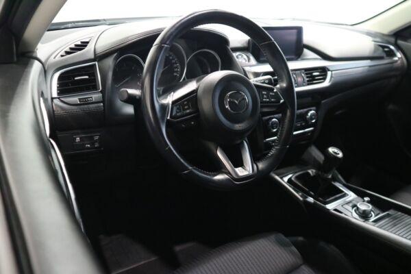 Mazda 6 2,2 SkyActiv-D 150 Vision stc. billede 10
