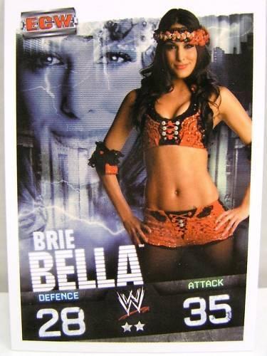 Slam attax evolution #132 Brie Bella