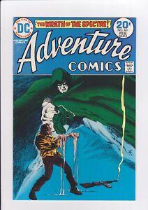 Adventure-Comics-431-2-74-DC-Comics-1st-Spectre-Classic-hands-melting-cover