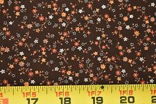 """SEVENBERRY /""""BICYCLES/"""" Rust by the 1//2 yard Japanese Import"""
