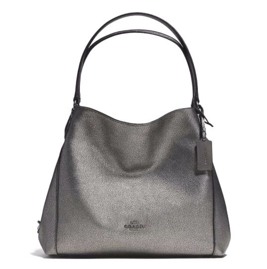 Coach 36464 Gunmetal Pebble Leather Edie 31 Shoulder Bag for sale online  a170c0ac55fef
