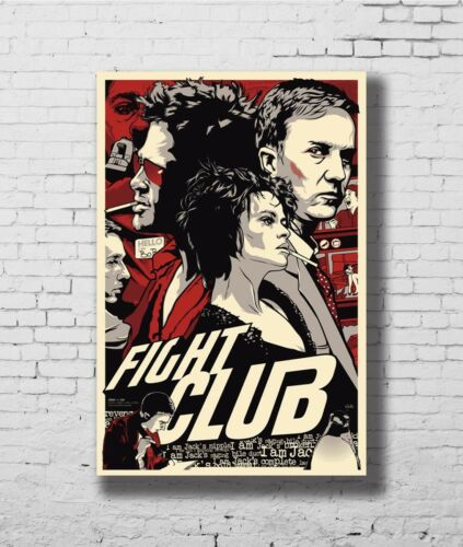 24x36 14x21 40 Poster Fight-Club/_poster/_goldposter/_com Art Hot P-1403