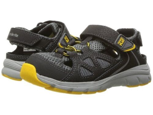 NIB STRIDE RITE Outdoor Shoes Sandals Scout M2P Gray Yellow Black 5 7 8.5 9 10 M