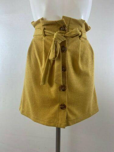 Ladies New Ex Primark  Mustard Skirt Size  8 14 16 18 20