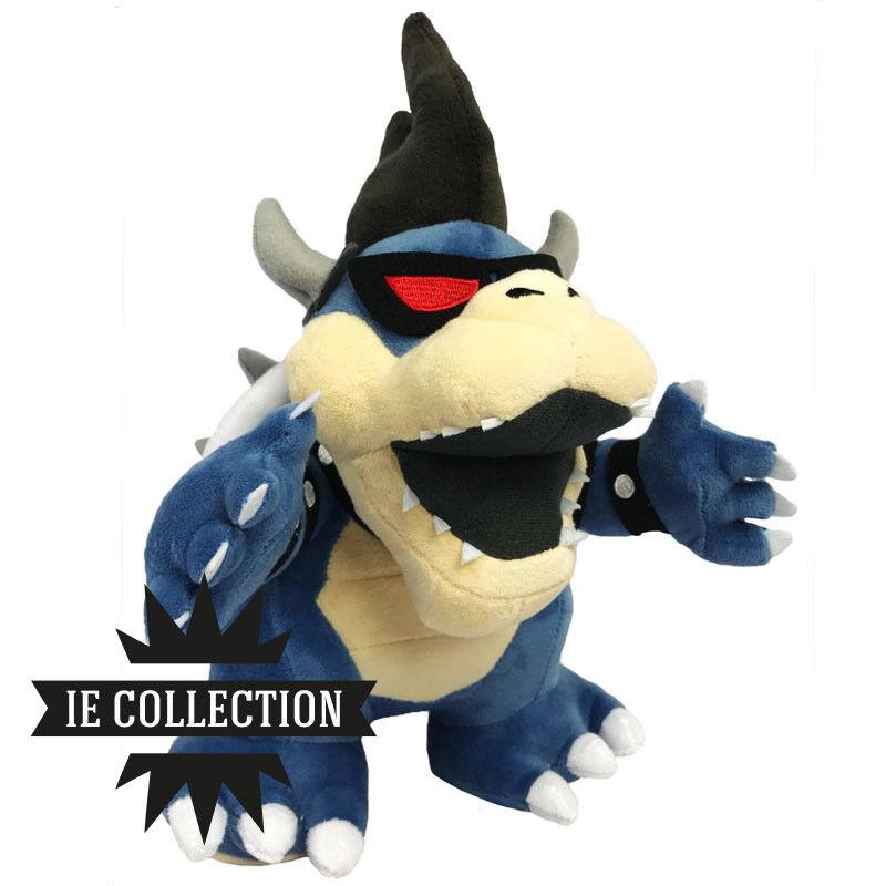 Super Mario Bros Bowser Dunkel Plüsch Dark Jr Schneemann Plush New 3d Land Luigi  | Mangelware