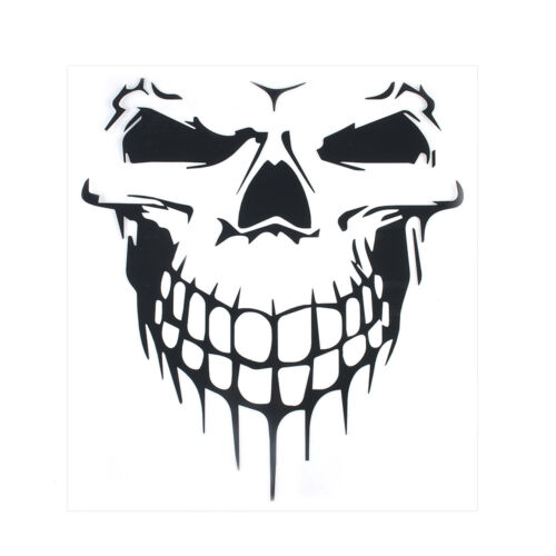 Decal Black Skull Car Hood Vinyl Large Graphic Sticker SUV Truck Tailgate Window