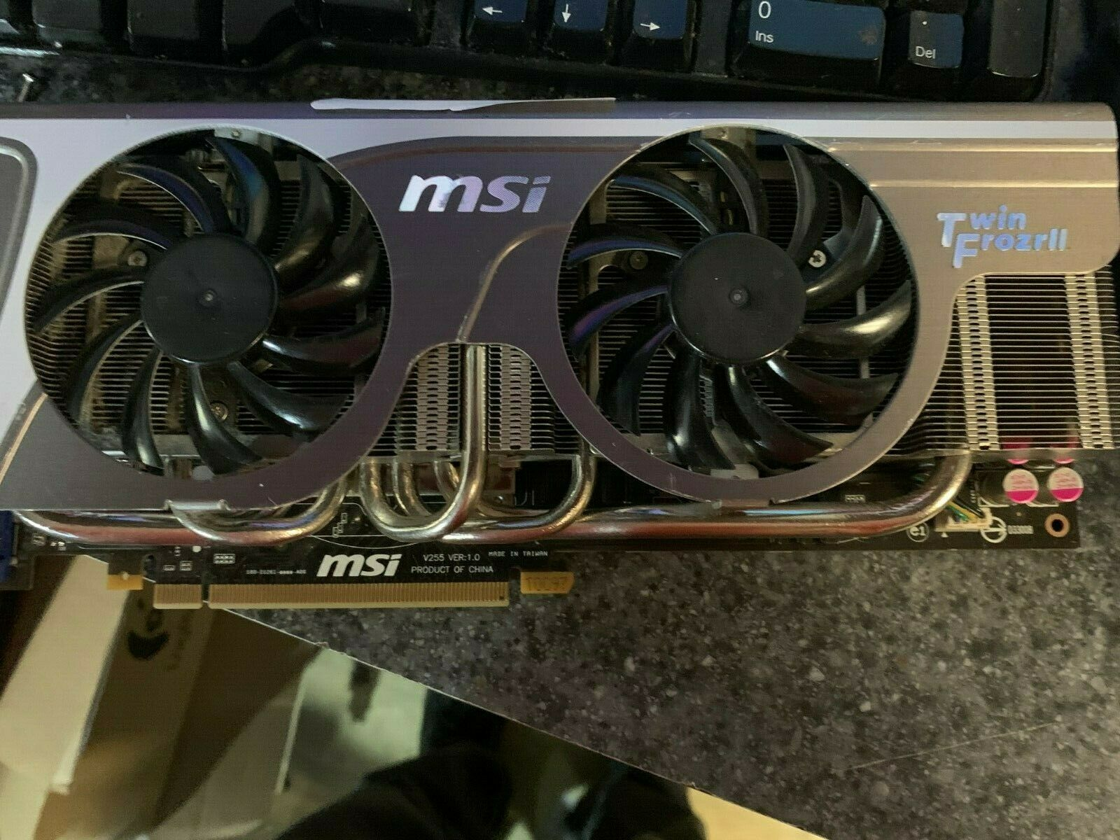 MSI GTX 580 1536 MB 800 MHZ Twin Frozrll Video Card