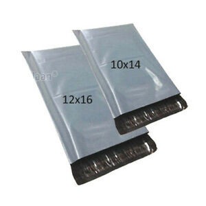 50-MIXED-MAILING-BAGS-GREY-PARCEL-PACKAGING-12-x-16-and-10-x-14-Cheapest-by-far