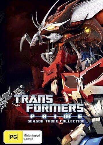 1 of 1 - Transformers - Prime : Season 3 (DVD, 2015) LIKE NEW REGION 4