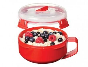 Sistema-850ml-Round-Breakfast-Bowl-Container-Microwavable-Travel-Lunch-Box-Klip