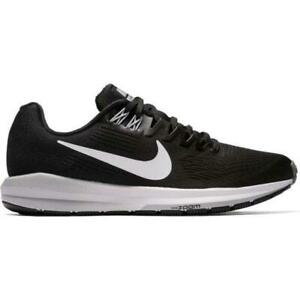 Womens-NIKE-AIR-ZOOM-STRUCTURE-21-Black-Trainers-904701-001