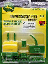 John Deere Implement Set Ertl 15446 Durable Plastic Construction