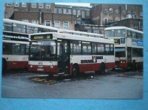 POSTCARD GTL DENNIS DART BUS 7382 H547 XGK - Tadley, United Kingdom - POSTCARD GTL DENNIS DART BUS 7382 H547 XGK - Tadley, United Kingdom