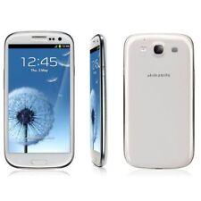 "Blanc 4.8"" Samsung Galaxy SⅢ I9300 16GB 8MP GPRS 3G Radio Débloqué Téléphone"