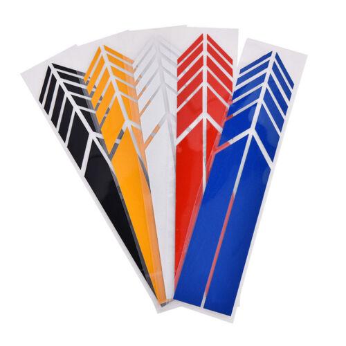 Auto Aufkleber reflektierende Vinyl Rückspiegel Aufkleber DIY Exterior Zube  YT