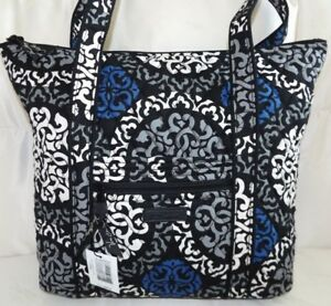 3784acc399 VERA BRADLEY Villager Tote Bag or Purse - CANTERBERRY COBALT - New ...