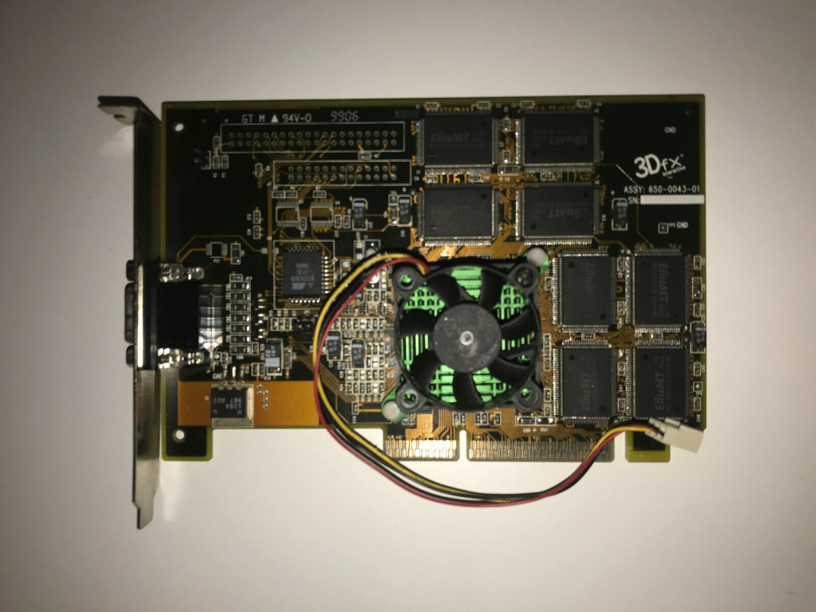3dfx Voodoo Banshee 16mb AGP
