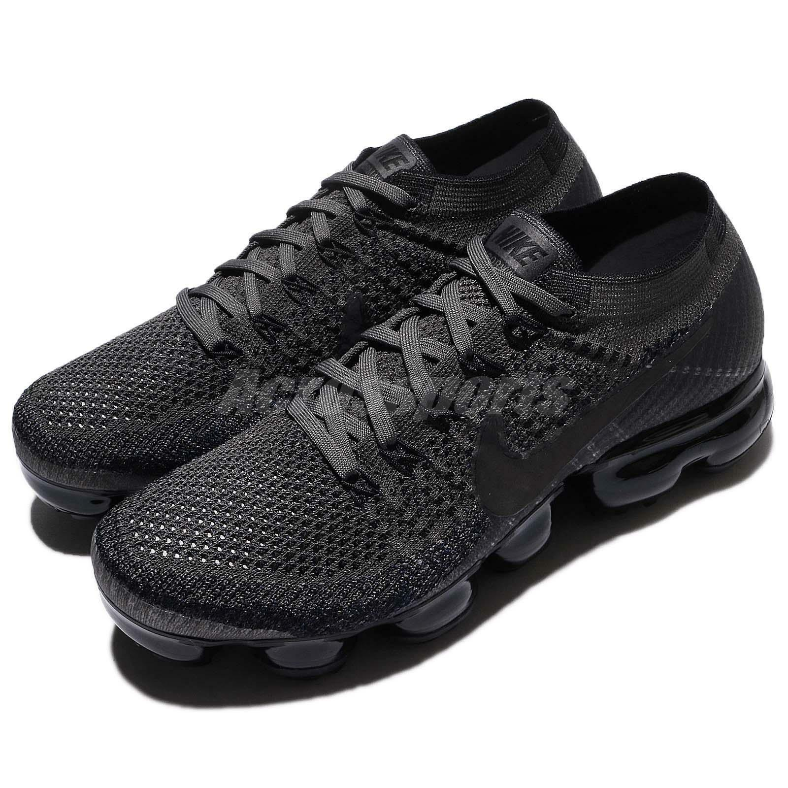 New Women's Nike Air Vapormax Flyknit Midnight Fog Black size size size 9.5 849557 009 ef4c42