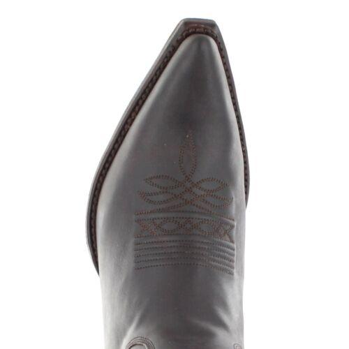 à femme Cowboystiefel Westernstiefel mode Herren Bottes Bu1006 Braun la R7gZqdwq