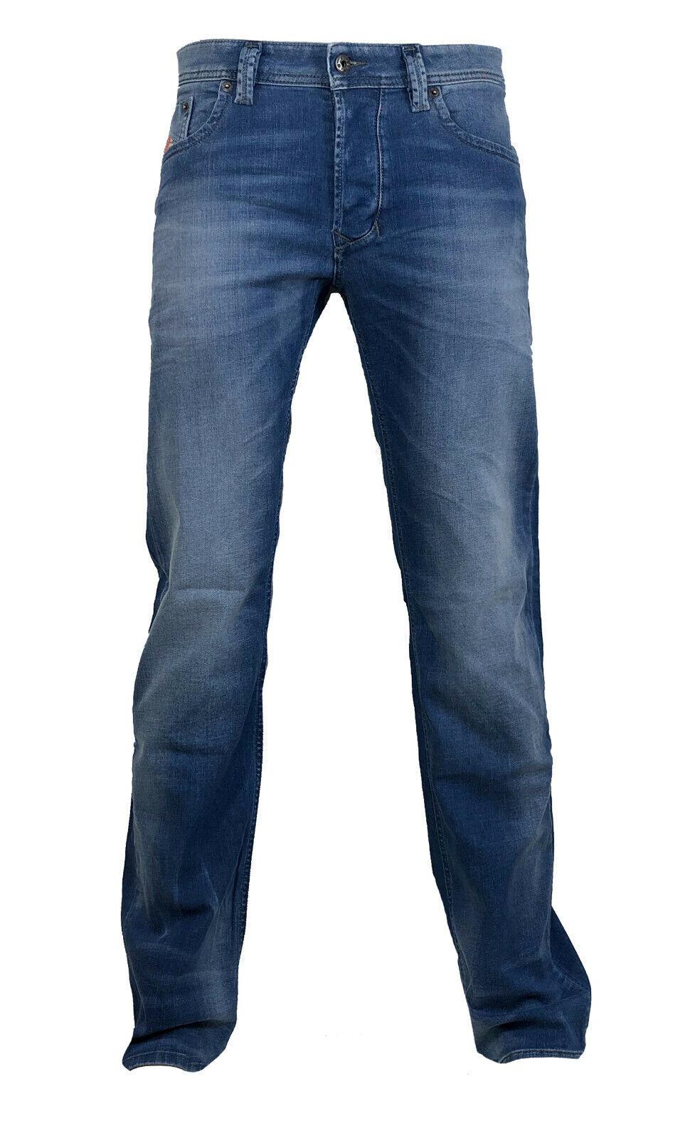 Diesel  Straight  Stretch Jeans LARKEE R18T8 blau verwaschen  Gr. 31 32 NEU