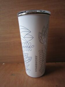 65fbbd791fd Details about STARBUCKS STAINLESS STELL SIPPER TUMBLER MUG TROPICAL 473ML  16 FL OZ**NEW**