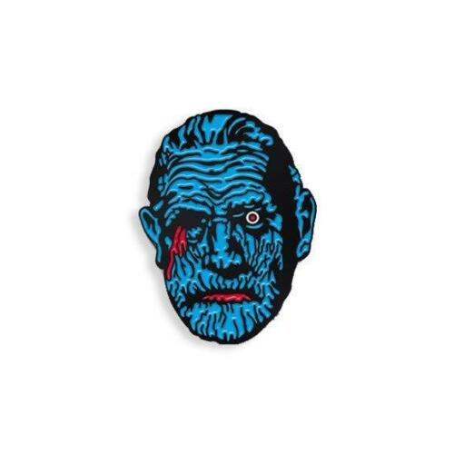 """MUMMY SOFT ENAMEL BLACK METAL PLATED 1/""""  LAPEL PIN BY YESTERDAYS CO."""