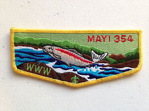MERGED-MAYI-OA-LODGE-354-SCOUT-SERVICE-PATCH-FLAP-YELLOW-BORDER-CLOTH-BACK-FINE